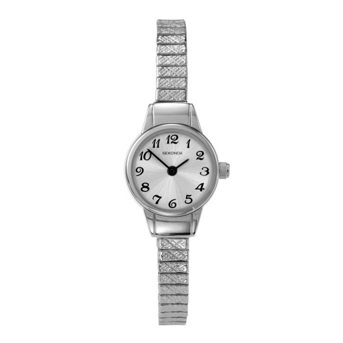 Sekonda Ladies Expandable Stainless Steel Watch 4472