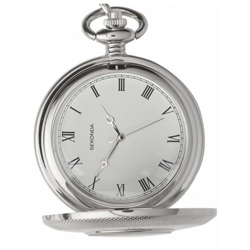 Sekonda Stainless Steel Pocket Watch 3468
