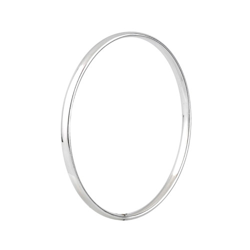 Sterling Silver 4mm Court Bangle