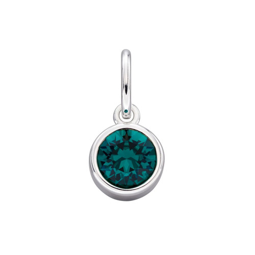 Sterling Silver May Birthstone Pendant