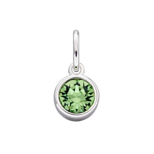 Sterling Silver August Birthstone Pendant