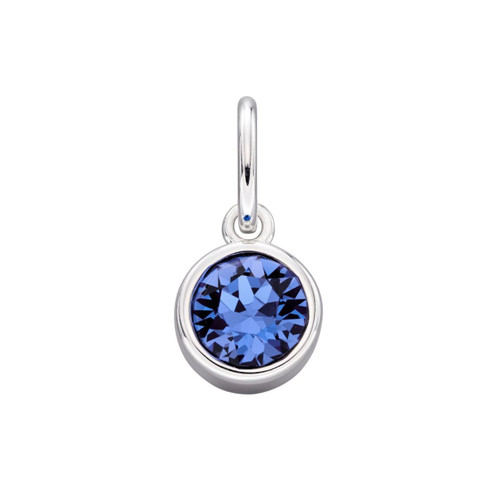 Sterling Silver September Birthstone Pendant