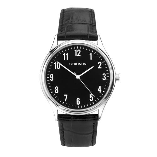Sekonda Gents Classic Leather Strap Watch 1777