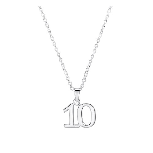 Jo for Girls Sterling Silver 10 Pendant