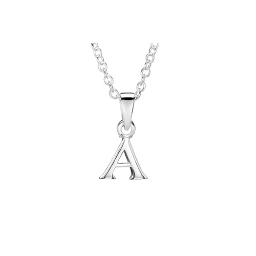 Jo for Girls Sterling Silver Initial A Pendant