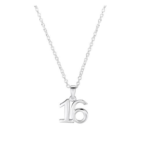 Jo for Girls Sterling Silver 16 Pendant