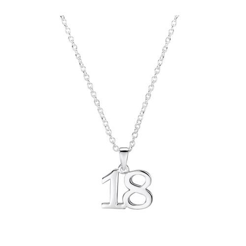 Jo for Girls Sterling Silver 18 Pendant