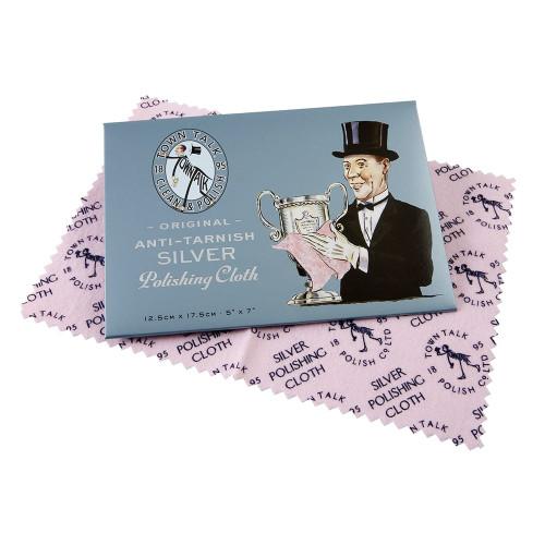 Town Talk Anti-Tarnish Silver Polishing Cloth
