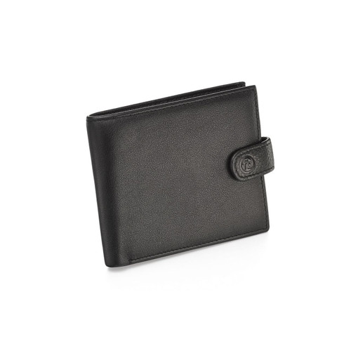 Fred Bennett Black Leather Wallet With Coin Purse