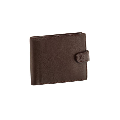 Fred Bennett Brown Leather Wallet With Coin Purse
