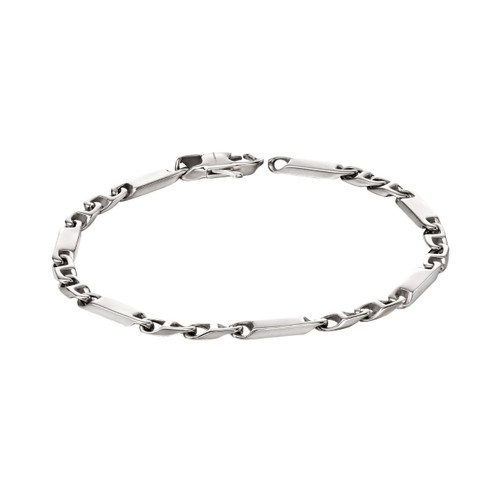 Fred Bennett Stainless Steel Bar Chain Bracelet