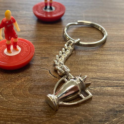 Sterling Silver Premier League Trophy Key Ring
