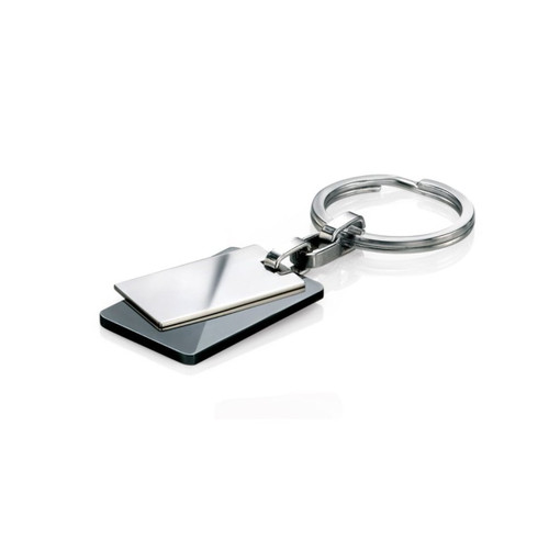 Fred Bennett Stainless Steel Black PVD Key Ring