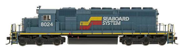 InterMountain HO Scale SD40-2 Locomotive Seaboard Systems