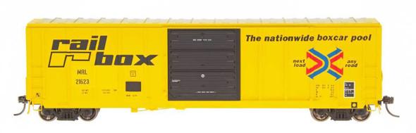 InterMountain N Scale P-S 5277 Cu. Ft. Boxcar- Railbox - Montana Rail Link - Re-stenciled #21654