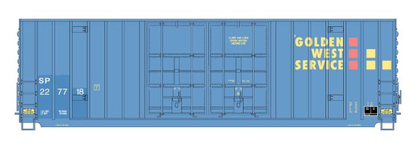 Intermountain HO Scale Gunderson 50ft. High Cube Double Door Boxcars - Flat Roof- Golden West