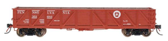 InterMountain HO Scale USRA Composite Drop Bottom Gondola - Pennsylvania RR -#351728