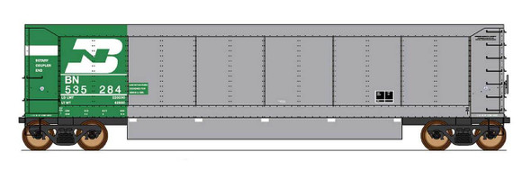 InterMountain HO Scale-AeroFlo Coal Gondola - Burlington Northern #536403