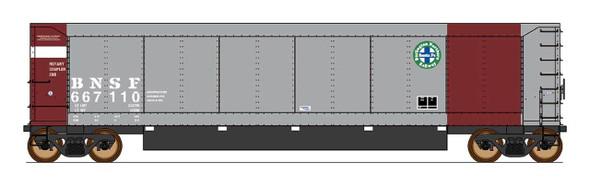 InterMountain HO Scale-AeroFlo Coal Gondola - BNSF- Six Pack