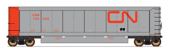 InterMountain HO Scale-AeroFlo Coal Gondola - Canadian National- Six Pack