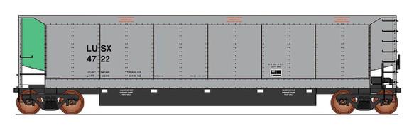 InterMountain HO Scale-AeroFlo II Coal Gondola - Luscor- LUSX- Six Pack