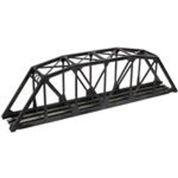 Atlas N Scale Code 55 - Through Truss Bridge Kit - Black
