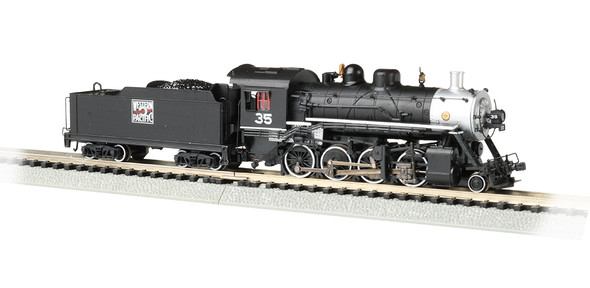 Bachmann N Scale Western Pacific - Baldwin 2-8-0 Consolidation #35 - DCC Econami sound value