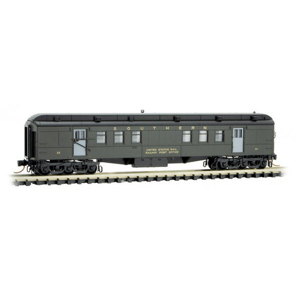 Micro-Trains Line N Scale Southern RPO Heavyweight Passenger Car #35