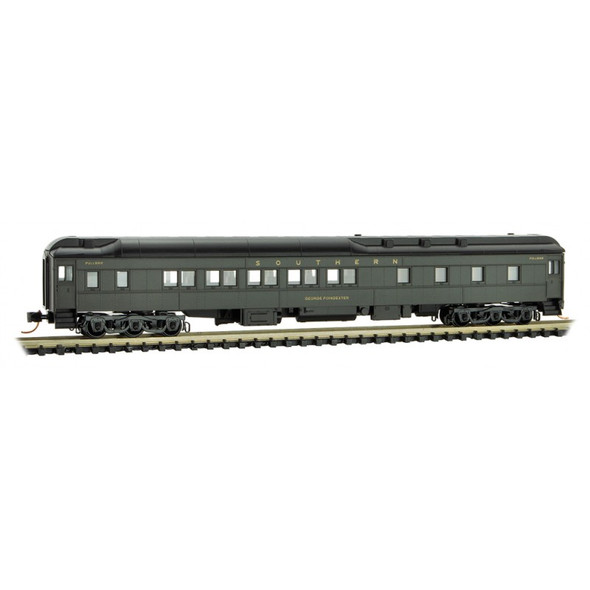 """Micro-Trains Line N Scale Southern  Heavyweight Sleeper Car """"George Poindexter"""""""