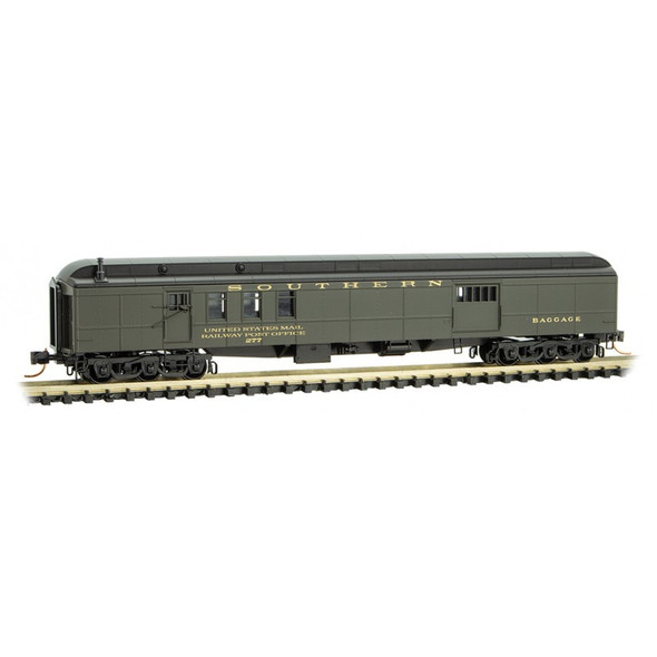 Micro-Trains Line N Scale Southern  Heavyweight Mail Baggage Car #277