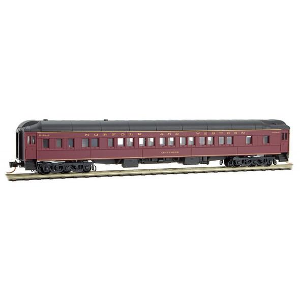 """Micro-Trains Line N Scale Norfolk & Western  Heavyweight Sleeper  Car """"Cuttyhunk"""""""