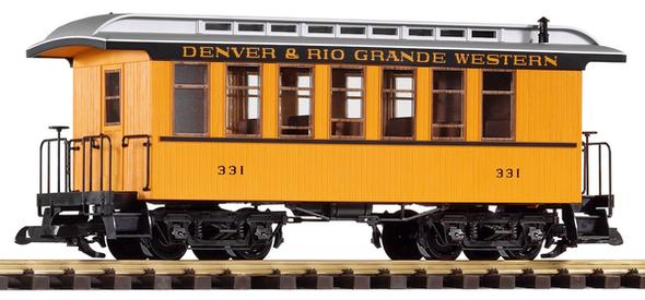38600 Denver & Rio Grande Western (D&RGW) Wood Coach#331