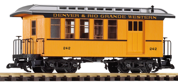 38601 Denver & Rio Grande Western (D&RGW) Wood Combine, New #242