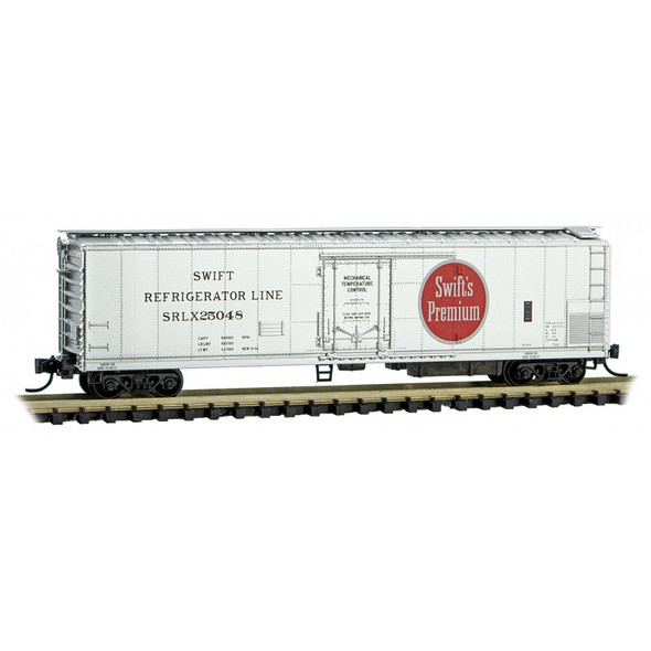 Micro-Lines N Scale Swift Refrigerator Line Road Number SRLX 25048