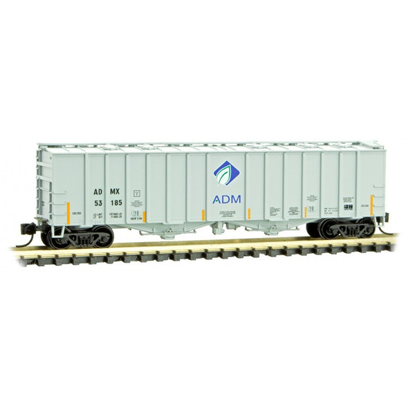 Micro-Trains N Scale Archer Daniels Midland Company - Airslide Covered Hopper Rd# 53185