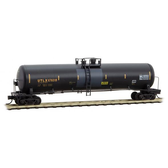 Micro-Trains N Scale UTLX 'Clover' Graffiti Tank Car Rd# 676018