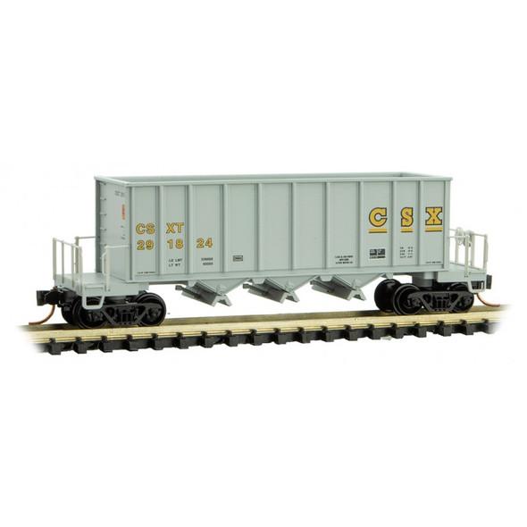 Micro-Trains N Scale CSX  Rapid Discharge Hopper Rd#291824