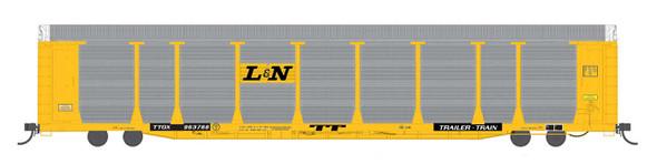 InterMountain HO Scale Bi-Level Auto Rack - Louisville & Nashville (L&N) #