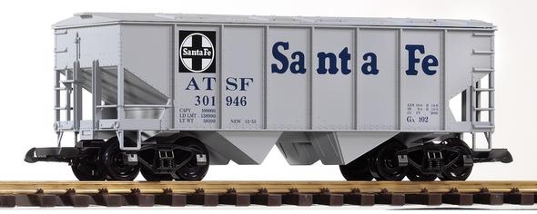PIKO 38835 Santa Fe (SF / ATSF)Covered Hopper Car (G-Scale)