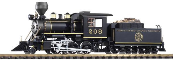 38228 Denver & Rio Grande Western(D&RGW)Mogul #208 Steam Locomotive w/ Sound and Smoke