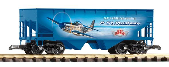 PIKO 38902 Vintage Warbirds P-51 Hopper (G-Scale)