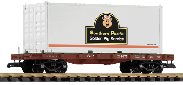 PIKO 38718Southern Pacific Container Car(G Scale)
