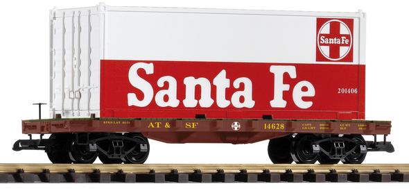 PIKO 38732 Santa Fe Container Car(G Scale)