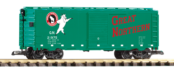 PIKO 38861 Great Northern (GN)Steel Boxcar (G-Scale)