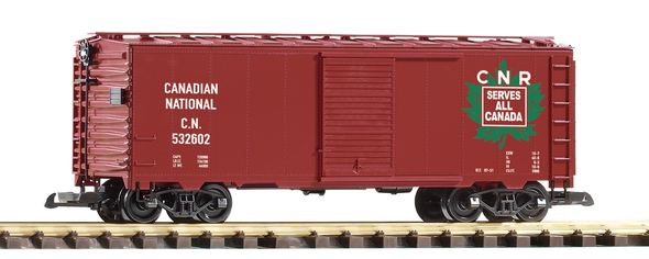 PIKO 38849 Canadian National (CN)Steel Boxcar (G-Scale)