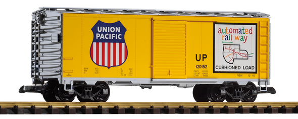 PIKO 38831 Union Pacific (UP)Steel Boxcar (G-Scale)