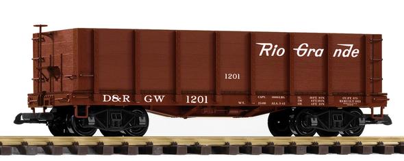 PIKO 38715Denver & Rio Grande Western (D&RGW) High-Side Gondola (G-Scale)