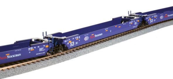 HO GUNDERSON MAXI-IV WELL CAR PACER STACKTRAIN #6020