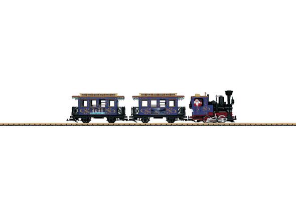 LGB 72305 CHRISTMAS TRAIN STARTER SET BLUE