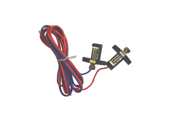 PIKO 35270 Power Clamp with Wires, 1 pair (G-Scale)